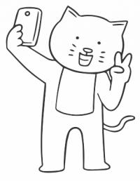 Influencer kitty